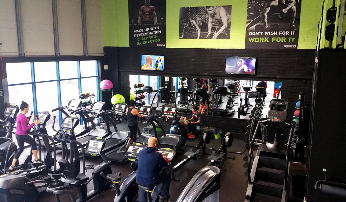 Xtreme Gym Cashel Cardio Area
