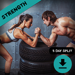 Strength Training Plan 5 Day Split