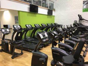 Naas Gym Cardio Area