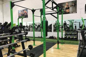 Functional Training Rig and Kettlebells