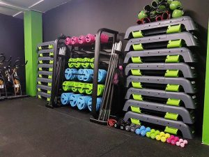 gym studio equipment