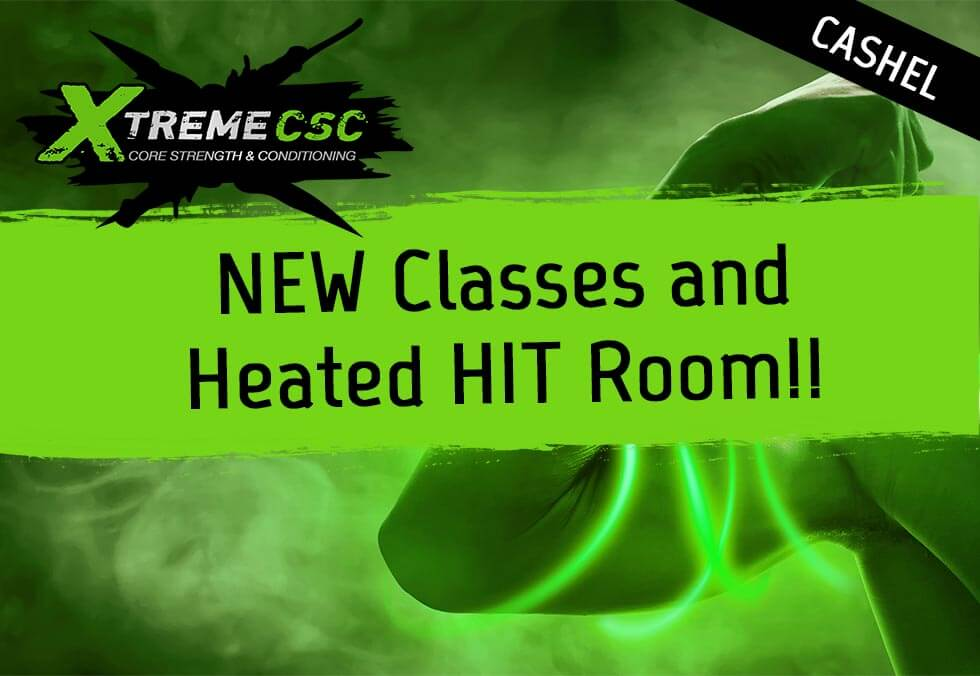 heated gym classes cashel