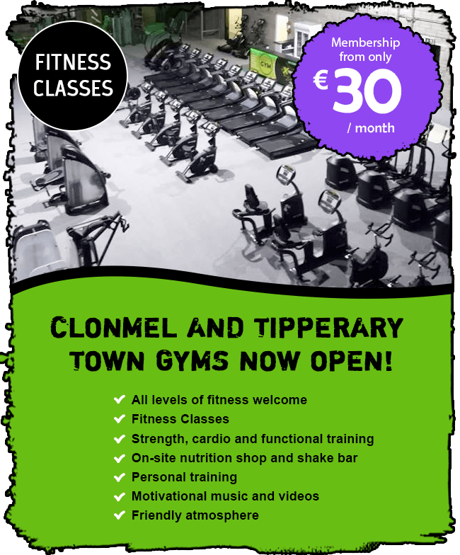 New Gym Clonnel and Tipperary